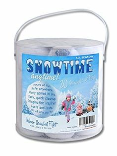 $20 Indoor Snowball Fight SNOWTIME ANYTIME 20 Pack