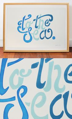 We feel cooler already. 'To The Sea' by Black List Studio.