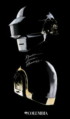 Daft Punk - Random Access Memory by Mario de la Cruz, via Behance