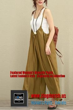 Women s Pants Overalls Wide Legs Women s Pants Overalls Wide Legs Active Lifestyle Zingmerch us zingmerch Yoga Everyday ZingmerchWomen s Pants Overalls Wide Legs jumpers for nbsp hellip fashion jumpsuit Rompers Dressy, Jumpsuit Dressy, Elegant Jumpsuit, Summer Jumpsuit, Jumpsuit Outfit, Striped Jumpsuit, Black Jumpsuit, Jumper Outfit Jumpsuits, Nude Jumpsuits