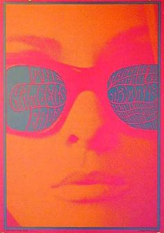 Victor Moscoso, 1967. Reminds me of the museum exhibit on 60's concert posters from the Denver Museum a few years ago!