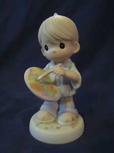 PRECIOUS MOMENTS FIGURINE YOU COLOR OUR WORLD W/LOVING Coloring Books, Coloring Pages, Precious Moments Figurines, Carthage, My Precious, Beautiful Family, Little People, My World, Statues