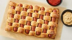Pretzel woven hot dogs, Chicago-style biscuit cups and hot dog fried rice—admit it, you're super impressed, aren't you?