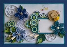 neli: Quilling card - summer shades