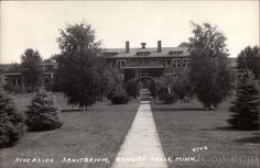I wish I could have seen this place before it was demolished - Riverside Sanitorium, Granite Falls, MN