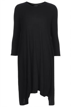 Topshop Swing Knitted Dress - Black Found on my new favorite app Dote Shopping #DoteApp #Shopping