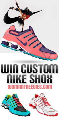 Nike Shox NZ iD GIVEAWAY Hoping I win from Woman Freebies!! 2c420cd66