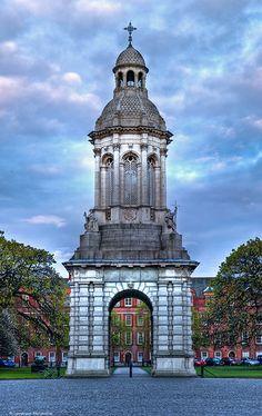 Trinity Campanile, Trinity College, Dublin, Ireland - By flamouroux on Flickr Dublin Ireland, Ireland Travel, Places Around The World, Around The Worlds, Trinity College Dublin, Erin Go Bragh, The Longest Journey, Continental Europe, Irish Sea