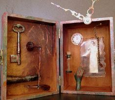 Shary Bartlett | Dr. Time |  mixed media assemblage