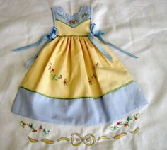 I'd make this as an actual dress - so cute