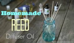 DIY reed diffuser oil is fast an easy to make. Fill your home with the perfect scent for a fraction of the price by making your own homemade diffuser oil.