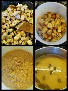 Skvelá cesnaková polievka - obrázok 3 Cheeseburger Chowder, Risotto, Chili, Soup, Ethnic Recipes, Chile, Soups, Chilis