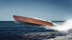 Aeroboat Speedboat by Claydon Reeves