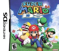 Super Mario 64 Nintendo DS 2004 Play as any character with unique abilities