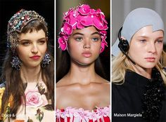 Spring/ Summer 2017 Headwear Trends | Fashionisers