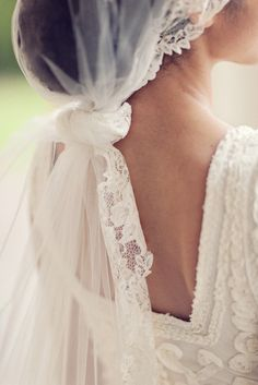 Knotted veil