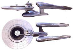 Star Trek NCC-1701 turntable model one of a kind. Set nerd factor to warp speed.  by _skratch http://ift.tt/1HNGVsC
