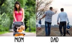 15-Funny-Kids-Photos-Shows-Difference-between-father-and-mother-Mom-Vs-Dad-15