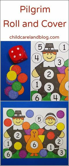 Pilgrim Roll and Cover ... children loved this in our math center.