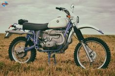 Boxer im Sixdays Trimm GS #Bmw #R100 #R90 #R80 #R75 #R60 #R50 #R65 #R45 #R69 #Motorrad #Motorcycle