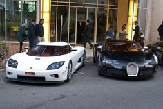 Feel free to select your favorite :) Koenigsegg CCX or Bugatti Veyron Sang Noir EXPLORED! | Flickr - Photo Sharing!