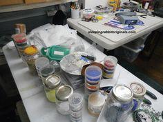 My beads.... Sleeping Rabbit Originals Studio