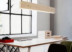 wood+leds lamp by Northern Lighting