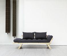 Futonsofa Akashi: das perfekte Einsteigermodell für den Scandi Chic. Massives Holzgestell inkl. Futon und Rückenkissen  #scandi #japan #sofabed Outdoor Sofa, Outdoor Furniture, Outdoor Decor, Scandi Chic, Japan, Home Decor, Minimalist Design, Pastel, Pillows