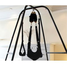 Quality Sex Furniture Sex Swing with Steel Stand Frame Heavy Duty Fantasy Sex Sling