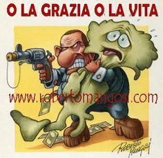 ITALIAN COMICS - Se fosse sul mercato comprerei la Merkel