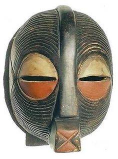 Songye Kifwebe Mask front view