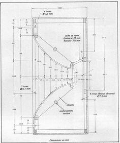 Afbeeldingsresultaat voor Altec Voice of the Theatre Subwoofer Box Design, Speaker Box Design, Horn Speakers, Diy Speakers, Audio Sound, Sound Speaker, Klipsch Speakers, Audio Box, Geometric Construction