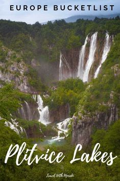 Find out why you need to add Plitvice Lakes, Croatia to your Europe Bucketlist. Europe Travel Outfits, Europe Train Travel, Top Travel Destinations, Europe Travel Tips, Traveling Europe, Nightlife Travel, European Destination, European Travel, Plitvice Lakes National Park