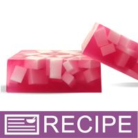 RECIPE: Chunky Pink Berry MP Soap - Wholesale Supplies Plus