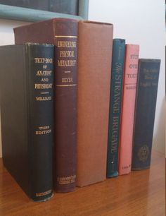 1920s  50s Antiquarian Old Book Decor Lot of by VintageInspiredNow