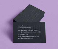 Well Made Studio Business Cards