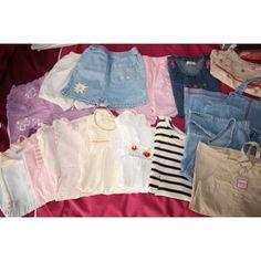 54€ --> Lot vêtements fille 18 mois printemps-été 26 pièce
