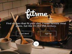FitsMe, web para encontrar recetas en base a un plan alimenticio - http://enlistados.net/fitsme-web-para-encontrar-recetas-en-base-a-un-plan-alimenticio/