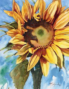 Watercolor Flower Paintings - Jeanne Hyland, Artist & Instructor