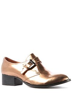 Jeffrey Campbell Bucanan Loafer in Bronze.  These are headed to me right now!