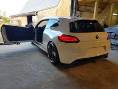 Rear bumper scirocco R White Scirocco Volkswagen, Vw Volkswagen, Audi, Porsche, Vw Golf Mk4, Car Photos, Car Car, Custom Cars, Concept Cars