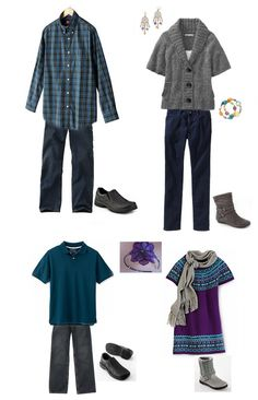 what to wear families