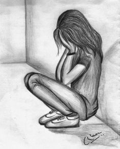 Afbeeldingsresultaat voor easy back of girl sketches – recover deleted photos android 2020 Easy Drawings Sketches, Girl Drawing Sketches, Sad Drawings, Dark Art Drawings, Girly Drawings, Sketchbook Drawings, Pencil Art Drawings, Drawing Ideas, Girl Sketch Images