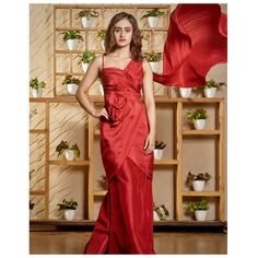 A red dress is not a trend. It never was. It's an expression. A lifestyle. Rent the best look only at www.rentanattire.com. . . . . . . . Do visit our website www.rentanattire.com or call us at 7722009477 #redgown #gownmoment #gownsonrent #dress #gowninspo #affordableoutfits #RAAforsustainablefashion #rentanattire #designerwear #rentingistrending #sustainablefashion #reduce #reuse #recycle #consumeless #onlinerenting #circularfashion #indianattire #rentweddingwear #rentbridalwear #rentweddin