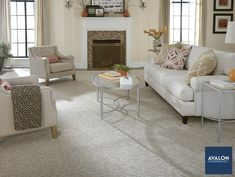 Subtle texture in carpet can bring sophisticated glamour to your home nn#interiordesign #texturedcarpet #carpet