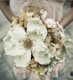 Vintage Jewelled Bouquets... SO pretty.