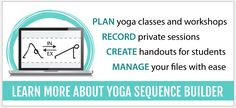 Sequence Wiz - create effective yoga sequences - Every yoga practice must have purpose, order and meaning