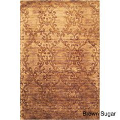 Hand-crafted Solid Casual Idaho Wool Rug | Overstock.com Shopping - Great Deals on 7x9 - 10x14 Rugs