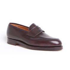 #zapatos #LaPuente #modahombe #men #style #Henley #cordovan #burdeos #CROCKETT & JONES