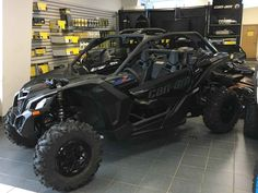 "New 2017 Can-Am Maverickâ""¢ X3 X ds Turbo R ATVs For Sale in South Carolina. The X3 X ds Turbo R is all about control, with fully-adjustable FOX 2.5 Podium RC2 HPG Piggyback shocks, with front and rear dual-speed compression and rebound settings for unparalleled flexibility on any terrain, with any driving style."